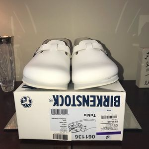 Birkenstock Shoes - Birkenstock Tokio Super Grip White Size 41 New